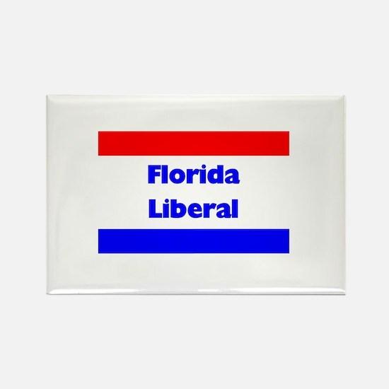 Florida Liberal Rectangle Magnet