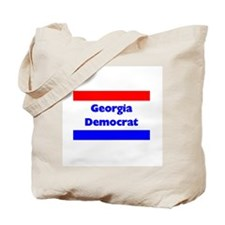 Georgia Democrat Tote Bag