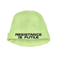 Resistance Is Futile Star Trek Borg Baby Hat