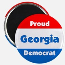 Georgia Proud Democrat Magnet