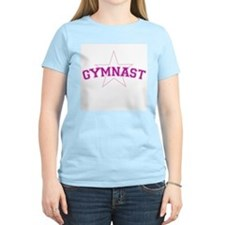 Gymnast Ts Women's Pink T-Shirt