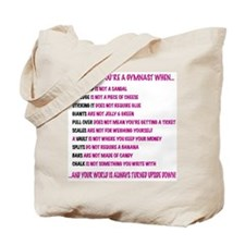 Gymnast Ts Tote Bag