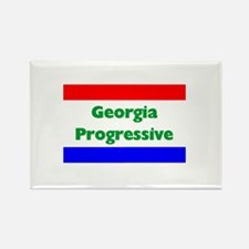 Georgia Progressive Rectangle Magnet