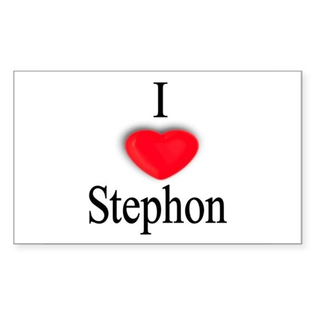 Stephon Rectangle Sticker