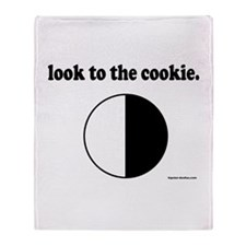 """""""Look to the Cookie"""" Throw Blanket"""