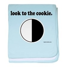 """""""Look to the Cookie"""" baby blanket"""