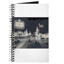 Vintage Las Vegas at Night Journal