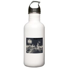 Vintage Las Vegas at Night Sports Water Bottle