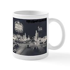 Vintage Las Vegas at Night Mug