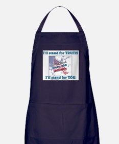 I'll stand for TRUTH Apron (dark)