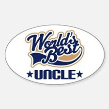 Worlds Best Uncle Decal
