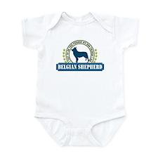 Belgian Shepherd Infant Bodysuit