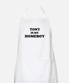 Tony Is My Homeboy BBQ Apron