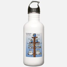 Government flow chart Water Bottle
