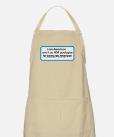 American. No apology Apron
