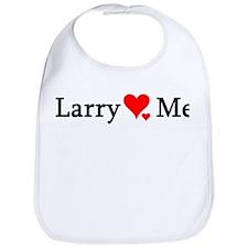 Larry Loves Me Bib