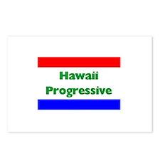 Hawaii Progressive Postcards (Package of 8)