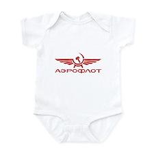 Vintage Aeroflot Infant Bodysuit