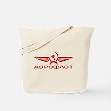 Vintage Aeroflot Tote Bag