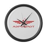 Aeroflot Wall Clocks