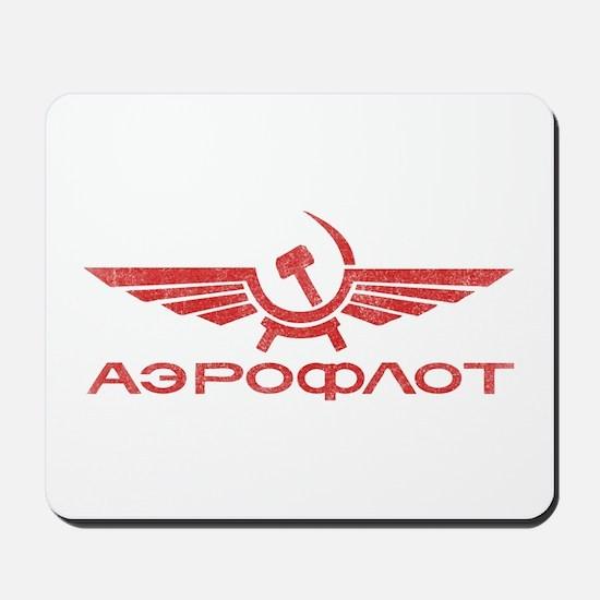Vintage Aeroflot Mousepad