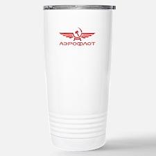 Vintage Aeroflot Stainless Steel Travel Mug