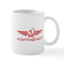 Vintage Aeroflot Mug