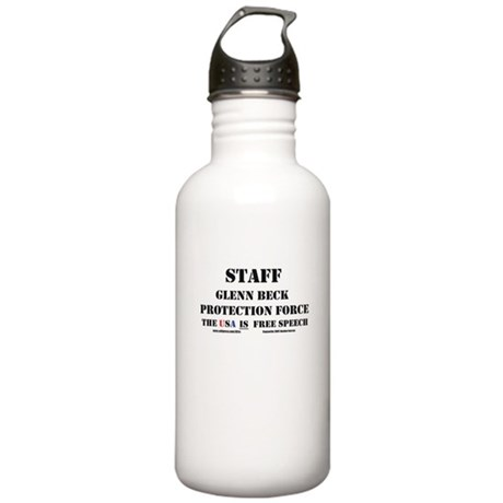 Glenn Beck Protection Force Stainless Water Bottle