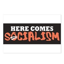 Here Comes Socialism Postcards (Package of 8)