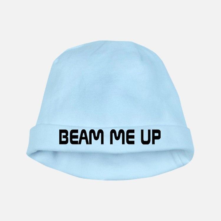Beam Me Up Star Trek Baby Hat