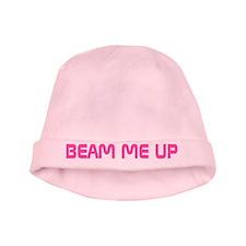 Pink Star Trek Beam Me Up Baby Beanie