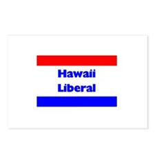 Hawaii Liberal Postcards (Package of 8)