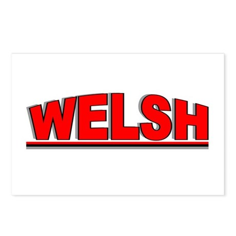 """Welsh"" Postcards (Package of 8)"