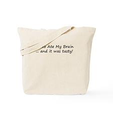 NaNo Ate My Brain Tote Bag