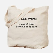 50,000 Words - One of Them is Tote Bag