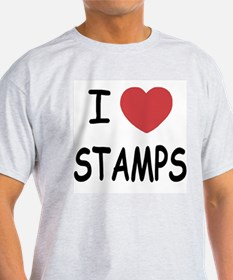 I heart stamps T-Shirt