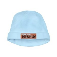 Time for Revolution baby hat