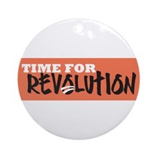Time for Revolution Ornament (Round)