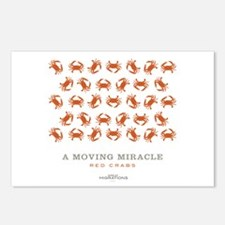Crabs Postcards (Package of 8)