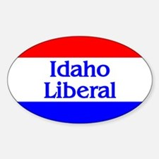 Idaho Liberal Oval Decal