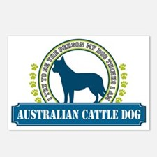 Australian Cattle Dog Postcards (Package of 8)