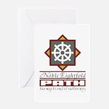 Buddhism Eightfold Path Greeting Card