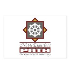 Buddhism Eightfold Path Postcards (Package of 8)