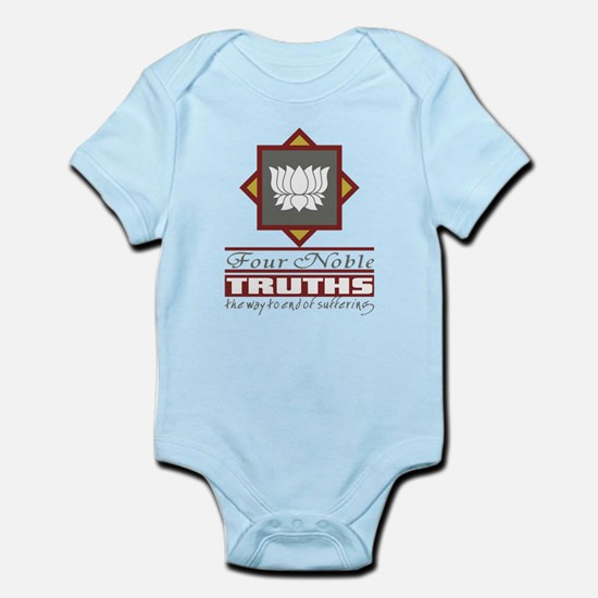 Buddhism Four Noble Truths Infant Bodysuit