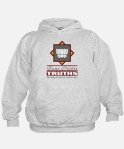 Buddhism Four Noble Truths Hoodie