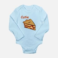 Cutie Pie Long Sleeve Infant Bodysuit