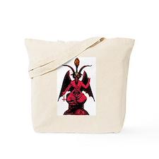 Satanic Goat Tote Bag