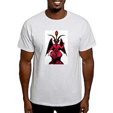 Satanic Goat Ash Grey T-Shirt