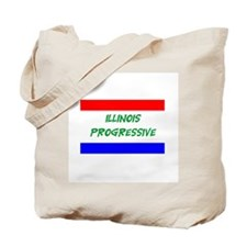 Illinois Progressive Tote Bag