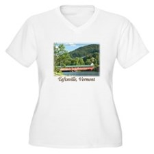 Taftsville VT Covered Bridge T-Shirt